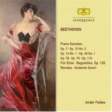 Andor Foldes : Beethovan: Piano Sonatas; Bagatelles; Ro (CD) (Classical)