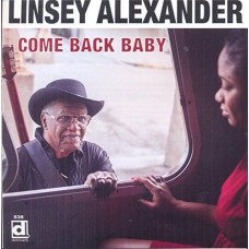 Alexander Linsey : Come Back Baby (CD) (Blues)