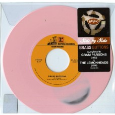 "Lemonheads/Gram Parsons : Brass Buttons (Clrd) (Rsd) (7"" Single) (General)"