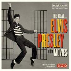Elvis (3CD) Presley : The Real... Elvis Presley At The Movies (CD) (General)