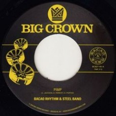 """Bacao Rhythm and Steel Band : Pimp / Police In Helicopter (7"""" Single) (Funk and Soul)"""