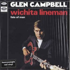 "Campbell Glen : Wichita Lineman / Fate of Man (7"" Single) (Country)"