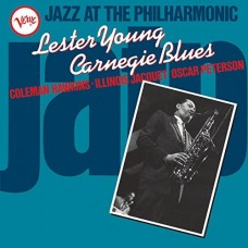 Young Lester : Jazz At The Philharmonic-Carnegie Blue (Vinyl) (Jazz)