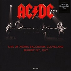 Ac/Dc : Live in Cleveland 22/8/77 (Vinyl) (General)