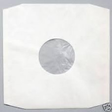 12inch White Paper / Poly Sleeve : Record Sleeve Inner (Paper / Poly) (Vinyl Accessories) (Accessories)