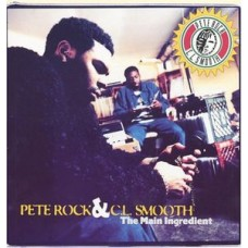 Rock Pete and C.L. Smooth : Main Ingredient (2LP) (Vinyl) (Rap and Hip Hop)