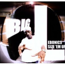 "Big L : Ebonics / Size Em Up (12"" Vinyl) (Rap and Hip Hop)"