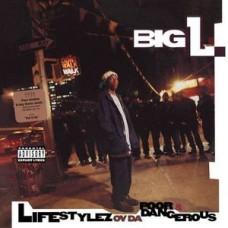 Big L : Lifestylez Ov Da Poor and Dangerous (2LP) (Vinyl) (Rap and Hip Hop)