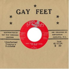 """Joe Higgs and The Conquerors : Don't Come to My House No More / Listen (7"""" Single) (Reggae and Dub)"""