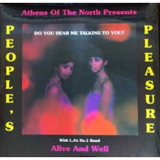 Peoples Pleasure and Alive and Well : Do You Hear Me Talking to You? (Vinyl) (Funk and Soul)