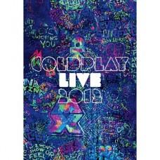 Live 2012 (Bluray) : Coldplay (BluRay) (Music DVD)