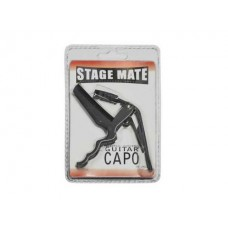Stage Mate Spring Loaded Capo : Capo (MUSICAL INSTRUMENT) (Musical Instrument)
