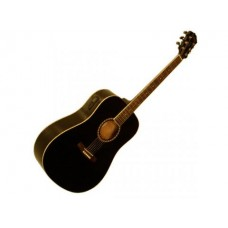 Monterey Acoustic Trans Black w/Tuner : Guitar Acoustic (MUSICAL INSTRUMENT) (Musical Instrument)