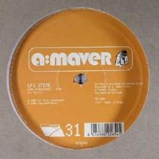 """A:Maver : Lfo Stone / Dubby One (12"""" Vinyl) (Nu-Skool Breaks)"""