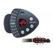 Seiko STX1N Clip-On Tuner : Guitar Tuner (MUSICAL INSTRUMENT) (Musical Instrument)