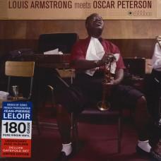 Armstrong Louis : Louis Armstrong Meets Oscar Peterson (Vinyl) (Jazz)