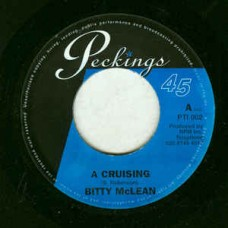 "Mclean Bitty : A Cruisin' (7"" Single) (Reggae and Dub)"