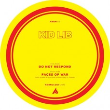 "Kid Lib : Faces Of War / Do Not Respond (12"" Vinyl) (Drum and Bass)"