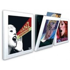 Art Vinyl Play and Display White (3Pack) : Art Vinyl Play and Display (Vinyl Accessories) (Accessories)