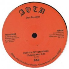 "Bab and P.O.P. : Party and Get On Down (12"" Vinyl) (Funk and Soul)"