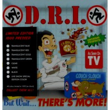 "D.R.I. : But Wait... There's More (Ltd//Clrd) (7"" Single) (Punk)"