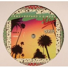 "Lemy Leopard and Simbad : Vibin' (10"" Vinyl) (Deep House)"