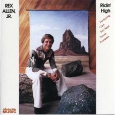 Allen Rex Jr. : Ridin' High (CD) (General)