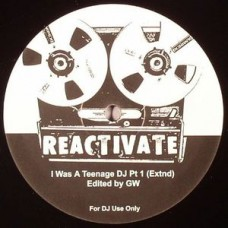 "Wilson Greg : I Was A Teenage Dj / Gotta Keep Workin' (12"" Vinyl) (Nu Disco)"