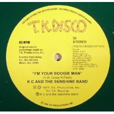"Kc and The Sunshine Band : I'm Your Boogie: Terje Rmx (Clrd)(Rsd) (10"" Vinyl) (Disco)"