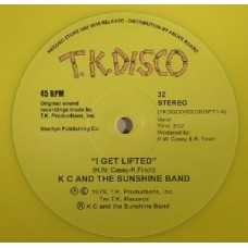 "Kc and The Sunshine Band : I Get Lifted: Terje Rmx (Clrd)(Rsd) (10"" Vinyl) (Disco)"