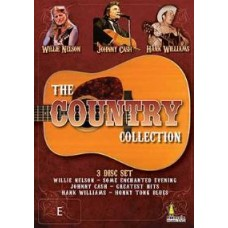 Country Collection (3DVD) : Various (Nelson/Cash/Williams) (DVD) (Music DVD)
