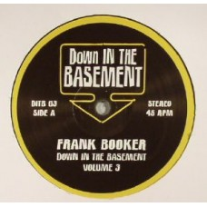 """Frank Booker and Dicky Trisco : Down In The Basement Vol.3 (12"""" Vinyl) (Nu Disco)"""