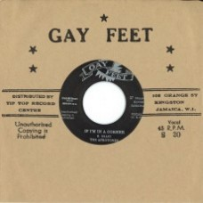 "Afrotones // Lynn Taitt and The Jets : If I'm In A Corner // The Hip Hug (7"" Single) (Reggae and Dub)"
