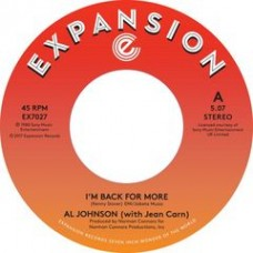 "Al Johnson : I'm Back For More /// I've Got My Second (7"" Single) (Funk and Soul)"