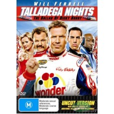 Talladega Nights : Movie (Blu-Ray) (BluRay) (Movies)