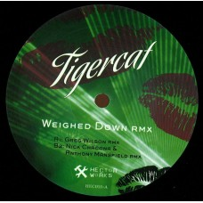 "Tigercat : Weighed Down-Greg Wilson Rmx (12"" Vinyl) (Nu Disco)"