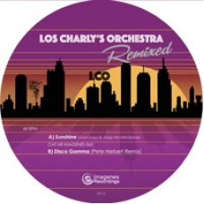 "Los Charly's Orchestra : Sunshine / Disco Gamma Remixed (10"" Vinyl) (Disco)"