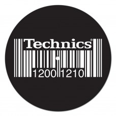 Technics Barcode Slipmats (2Pcs) : Slipmats Technics (Vinyl Accessories) (Slipmat)