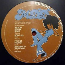 "Al Kent Pres. Million Dollar Disco : Other Side Ep (12"" Vinyl) (Disco)"