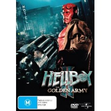Hellboy-2: The Golden Army : Movie (DVD) (Movies)