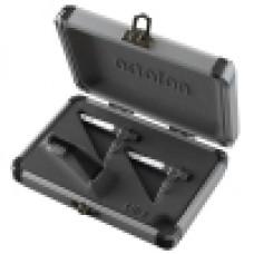 Pro (Silver) (2xCart/Styli) (Case/Brush) : Ortofon Concorde Twin Set (Stylus) (Stylus)