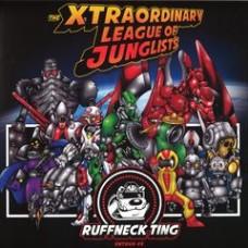 Various Artists : Xtraordinary League Of Junglists (2LP) (Vinyl) (Drum and Bass)