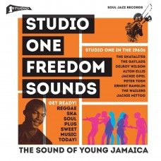 Various Artists : Studio One Freedom Sound (2LP+Dld) (Vinyl) (Reggae and Dub)