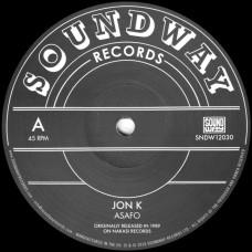 "Jon K / Pat Thomas : Asafo / Enye Woa (12"" Vinyl) (World Music)"