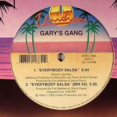 "Gary's Gang : Everybody Salsa / Mandolay (12"" Vinyl) (Disco)"
