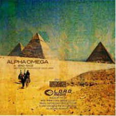 "Alpha Omega : Mind Rage / Marksman (12"" Vinyl) (Drum and Bass)"