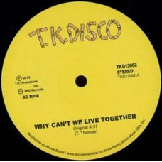 "Thomas Timmy : why can't we live together (12"" Vinyl) (Nu Disco)"