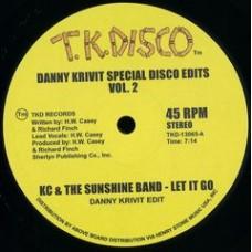 """Danny Krivit : Special Disco Edits Vol. 2 (12"""" Vinyl) (Disco)"""