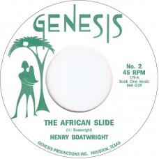 "Boatwright Henry : African Slide / Git It (7"" Single) (Funk and Soul)"