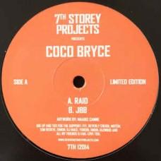 "Coco Bryce : Raid / Jbb (12"" Vinyl) (Drum and Bass)"